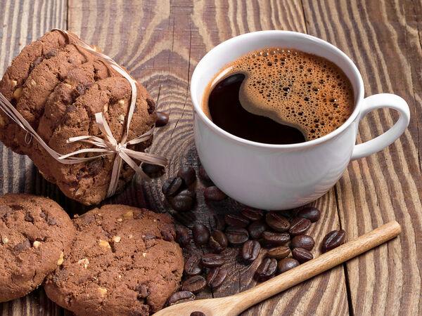 Кофе и пряник