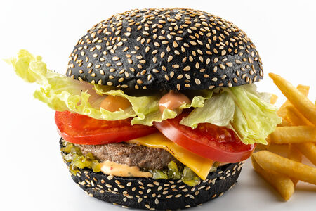 Блэк Биф бургер