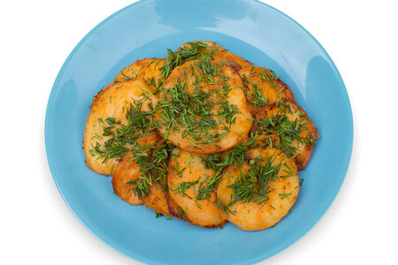 Картофель экспресс запеченный