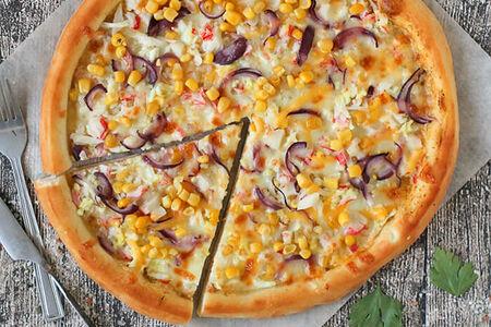 Пицца Крабовая