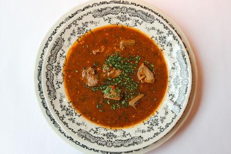 Суп Харчо пастуший с говяжьей грудинкой
