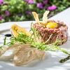 Фото к позиции меню Тартар из мяса молодых бычков
