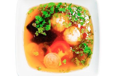 Суп Вен с креветкой