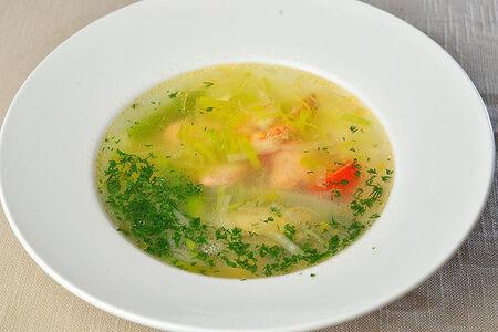 Суп с морепродуктами Для милых Дам