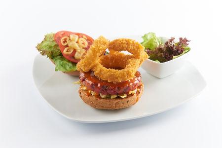 Барбекю бургер