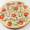 Фото к позиции меню Пицца Овощная с грибами