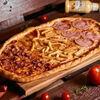 Фото к позиции меню Пицца Студенческая полуметровая