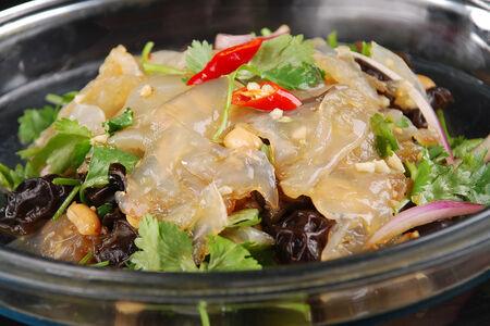 Салат Медуза с овощами
