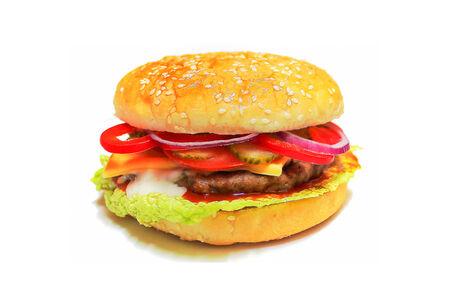 Гамбургер Макси