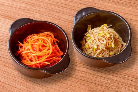Сет из двух корейских салатов