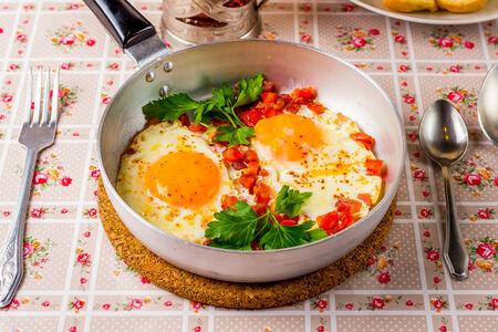 Яишенка из двух яиц