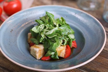 Салат корн с баклажанами