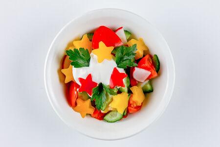 Салат овощной Звездочка