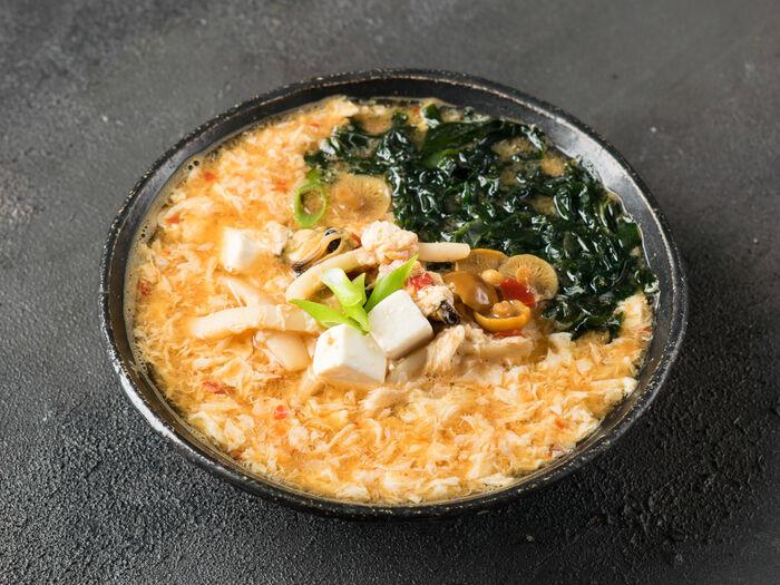 Суп Кимчи острый