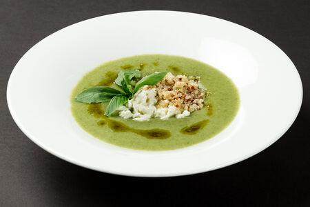 Крем-суп из цукини с кейлом