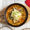 Фото к позиции меню Суп с курицей и овощами кимчи