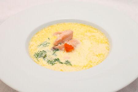 Сливочный суп Царский