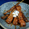Фото к позиции меню Китайские шашлычки из соевого мяса