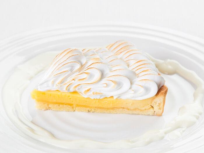 Лаймовый пирог с меренгой