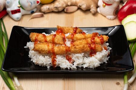 Кацу на рисе