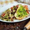 Фото к позиции меню Стейк-салат со стручковой фасолью