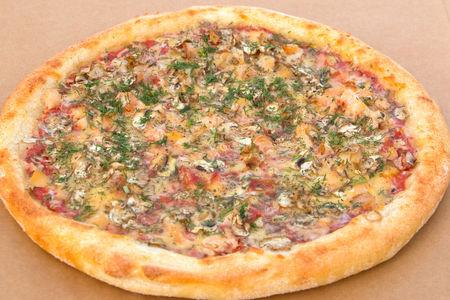 Пицца Курино-грибная