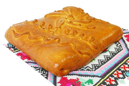 Пирог с рубленым мясом на дрожжевом тесте