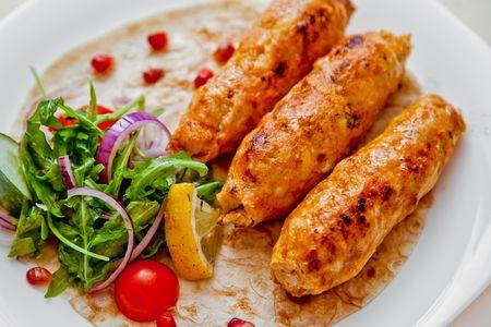 Люля-кебаб из куриной грудки