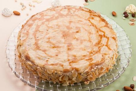Торт Блинный со сгущенкой целый