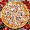 Фото к позиции меню Пицца Дары моря