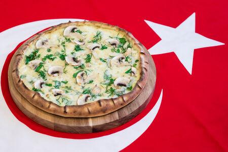 Берек-пицца с картофелем