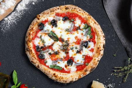 Пицца Анчоусы и маслины