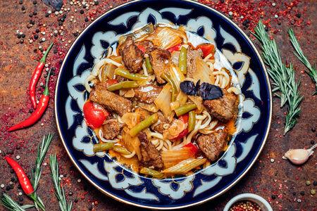 Уйгур лагман