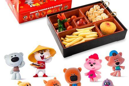 Kids Box с куриными шашлычками и игрушкой в подарок