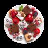 Фото к позиции меню Набор мини пирожных Selection