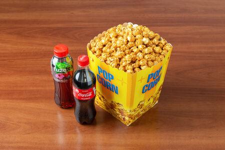 Комбо Для двоих с карамельным попкорном