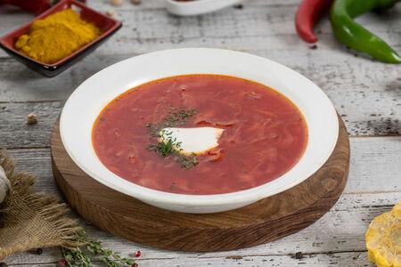 Суп Борщ со сметаной