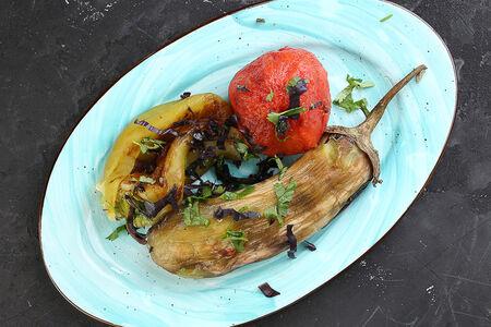 Овощи хоровац с гриля
