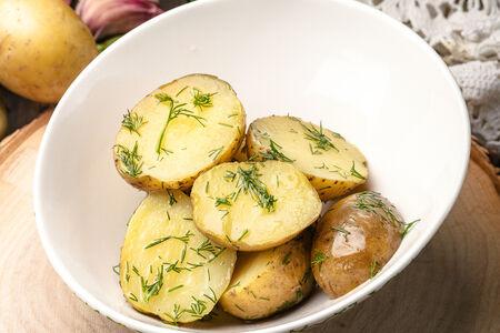 Отварной мини-картофель