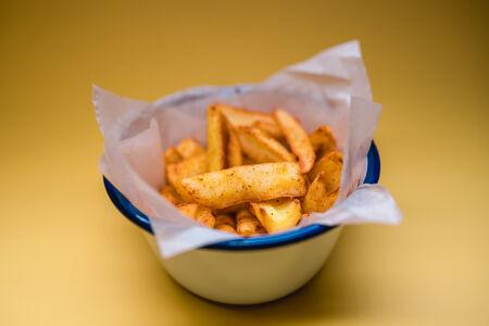 Картофель фри со специями