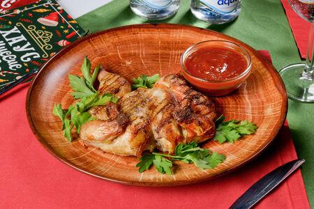 Цыпленок-корнишон на гриле