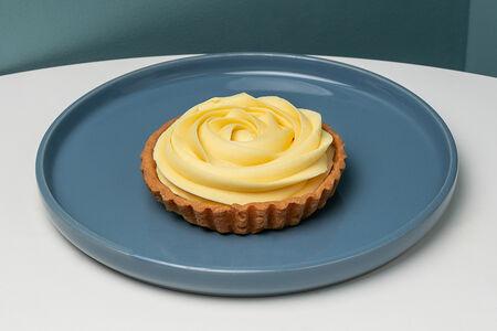 Тарт лимон-маракуйя