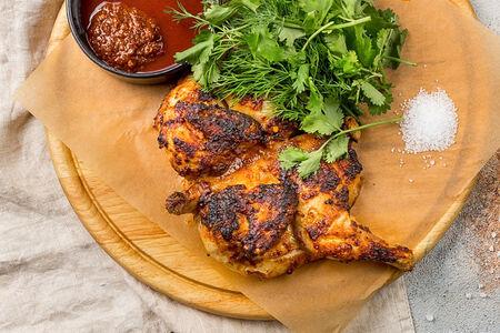 Цыпленок в пикантном соусе