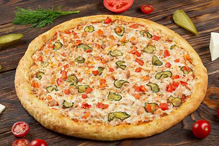 Пицца с шашлыком из курицы