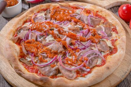 Пицца мясная Барбекю острая
