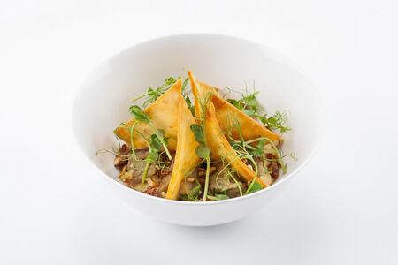 Хумус с баклажаном