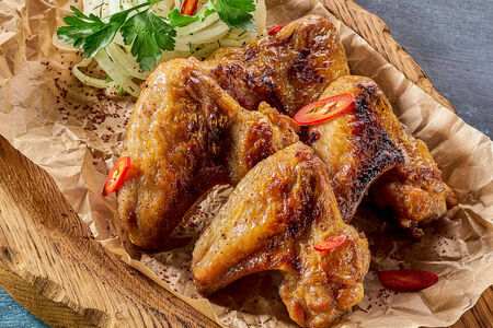 Крылья куриные барбекю