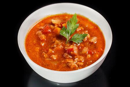 Мясной баварский суп-гуляш