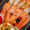 Фото к позиции меню Рыбное ассорти