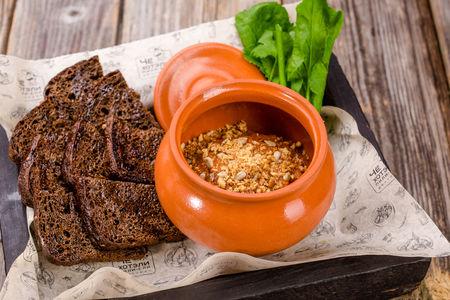 Икра баклажанная с кахетинским маслом